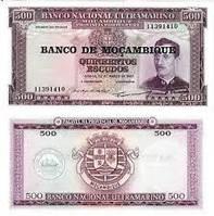 Мозамбик / Mozambique 500 escudos 1967(76)P118 UNC