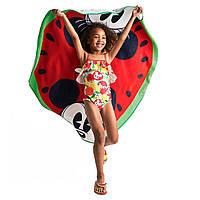 Полотенце Микки и Минни Маус Mickey and Minnie Mouse Watermelon Beach Towel - Summer Fun