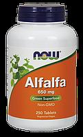 Витамины NOW Foods Alfalfa 650mg 250 tabs