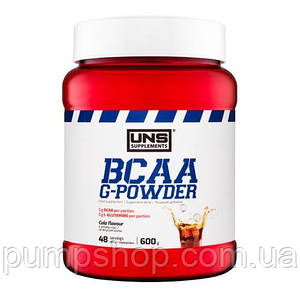 БЦАА+глютамін UNS BCAA G-Powder 600 г