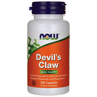 Хондропротектор NOW Foods Devils Claw 100 caps
