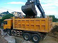 Вывоз грунта - земли с погрузкой Киев