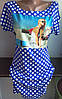 Платье в горох с фото женское