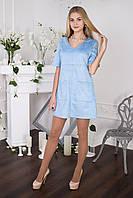 Голубое платье SUZANNE