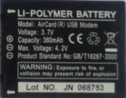 Аккумуляторная батарея Sierra 595u оригинал