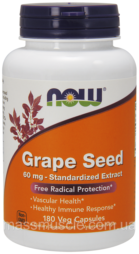 NOW Foods Grape Seed 180 caps