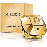 Женская парфюмированная вода Paco Rabanne Lady Million (Пако Рабанн Леди Миллион) 80 ml