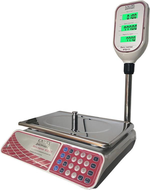 Весы торговые Camry ВТД-СС (6 кг)