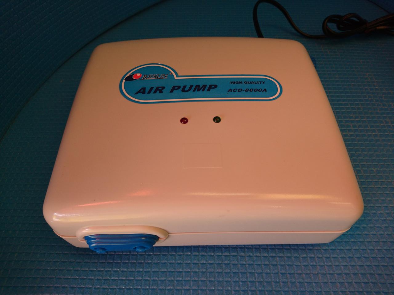 Компрессор на аккумуляторе Resun ACD 8800A, 5л/мин, 10W