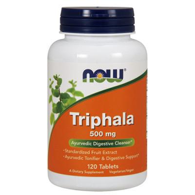 Омоложение и детоксикация NOW Foods Triphala 500mg 120 tabs