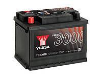 Автомобильный аккумулятор Yuasa YBX 3078 60Ач 550А (1) L