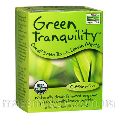 NOW Foods Green Tranquility Tea 24 bags