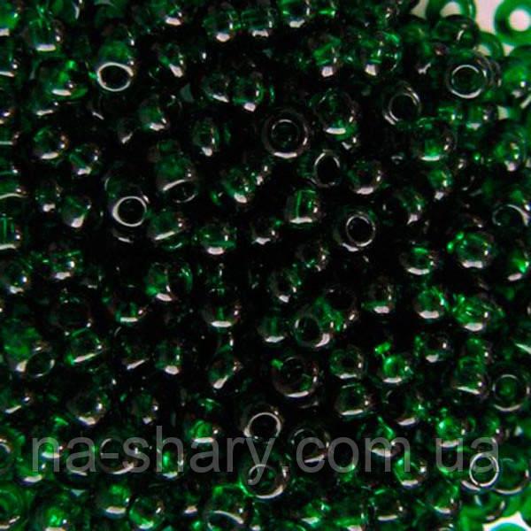 Чешский бисер для рукоделия Preciosa (Прециоза) 50г 31119-50060-10 зеленый