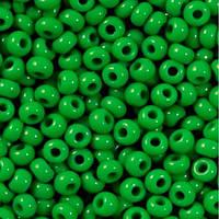 Чешский бисер для рукоделия Preciosa (Прециоза) 50г 31119-53250-10 зеленый