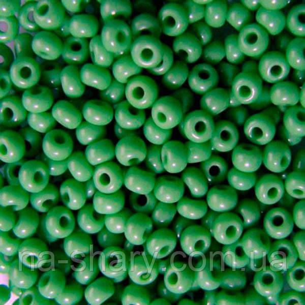 Чешский бисер для рукоделия Preciosa (Прециоза) 50г 31119-53210-10 зеленый