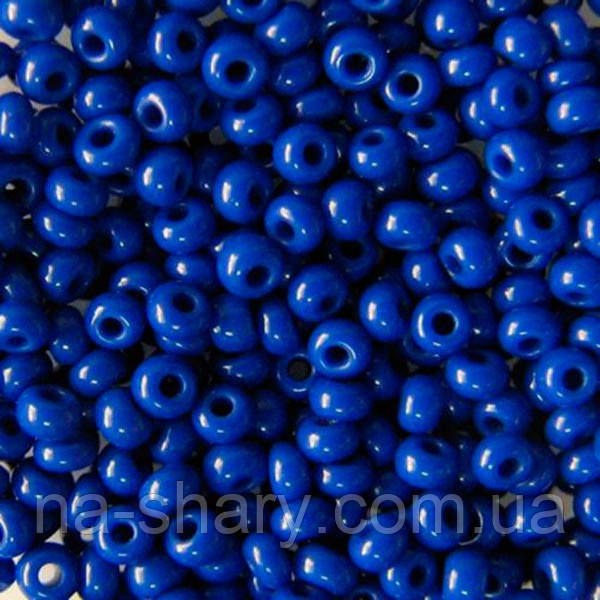Чешский бисер для рукоделия Preciosa (Прециоза) 50г 31119-33060-10 синий