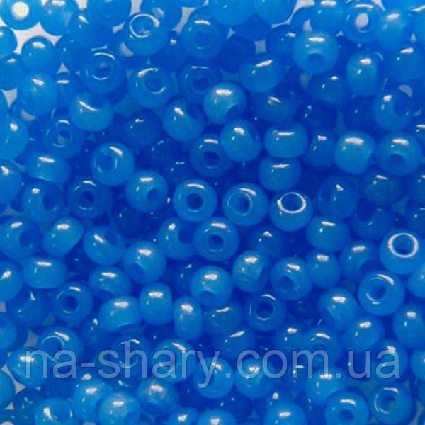 Чешский бисер для рукоделия Preciosa (Прециоза) 50г 31119-32010-10 синий