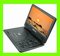 """Портативный DVD плеер 9.8"""" Opera NS-958 +USB + Game + TV + FM игры, телевизор, радио"""