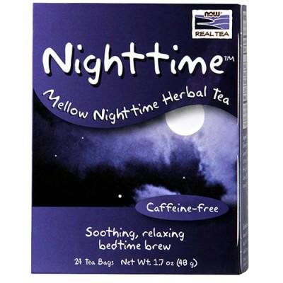 Вітаміни NOW Foods Nighttime Tea 24 bags