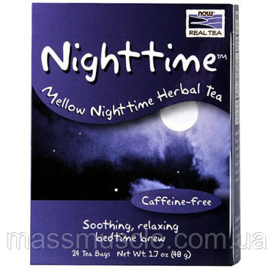 Витамины NOW Foods Nighttime Tea 24 bags
