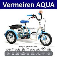 Трехколесный велосипед для реабилитации детей с ДЦП 3-7лет - Vermeiren Aqua Special Tricycle Bike