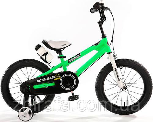 """Детский велосипед Royal Baby Freestyle 12"""", зеленый"""