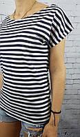 Тельняшка футболка женская полосатая