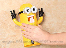 Дозатор Миньон для зубной пасты +держатель щеток!Лучший подарок, фото 3