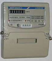 Счётчик электроэнергии цэ 6803в 1 220в 10-100а м7р32, трехфазный, однотарифный, на рейку / щиток, долговечный