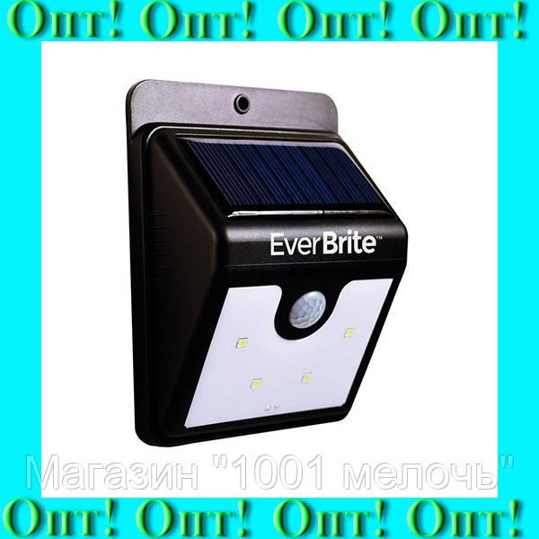 Фонарик с датчиком движения Ever Brite на солнечной панели SH-A09-20 SMD!Лучший подарок