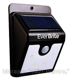 Фонарик с датчиком движения Ever Brite на солнечной панели SH-A09-20 SMD!Лучший подарок, фото 2
