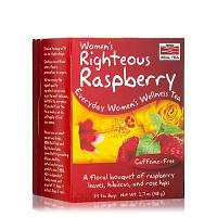 Витамины для женщин NOW Foods Womens Righteous Raspberry Tea 24 bags