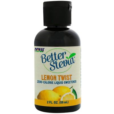 Заменитель питания NOW Foods Better Stevia liquid 59 ml
