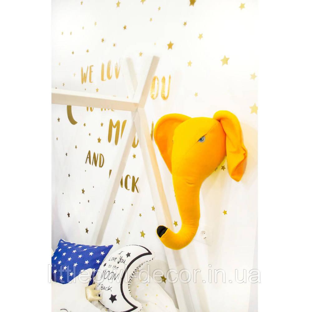 Трофей Слон жёлтый