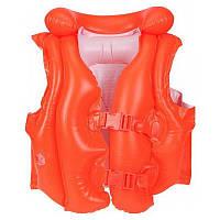 Жилет 3-6 лет оранжевый 58671 Intex