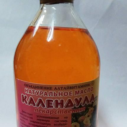 Масло календулы - противовоспалительное, антисептическое средство ,250 мл., фото 2
