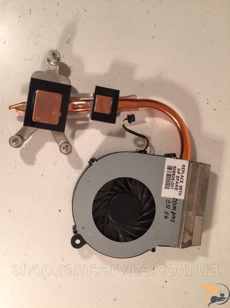 Термотрубка системи охолодження HP Compaq CQ56 *607084-001, 606609-001, б/в