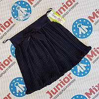 Школьная детская юбка для девочек в мелкую плисеровку оптом Tinex-NK, фото 1