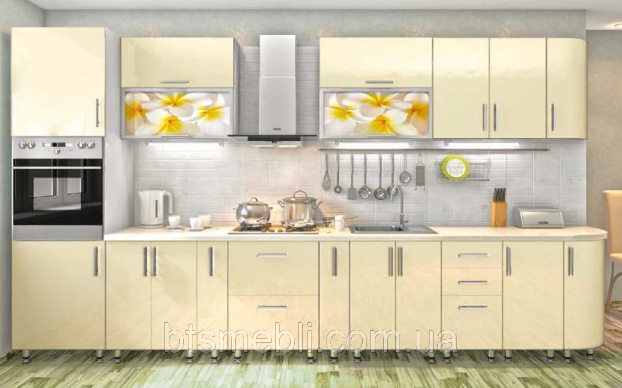 Кухня High Gloss 3.9м