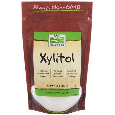 Заменитель питания NOW Foods Xylitol 454 g
