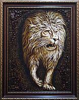 Лев з бурштину