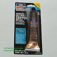 Формирователь прокладок высокотемпературный «УЛЬТРА КУППЕР» Permatex Ultra Copper, фото 1