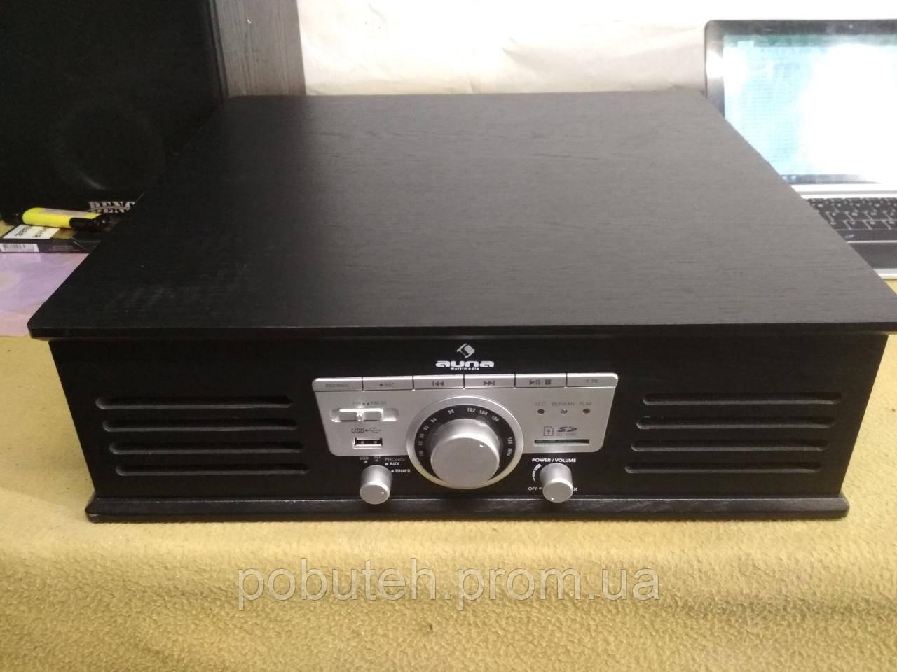 Проигрыватель виниловых пластинок Auna TT-92B