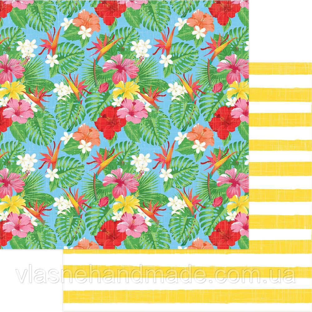 Папір двосторонній - Tropical Garden - Aloha - Photo Play - 30x30