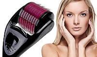 Роликовый массажер для лица Skin Roller - мезороллер