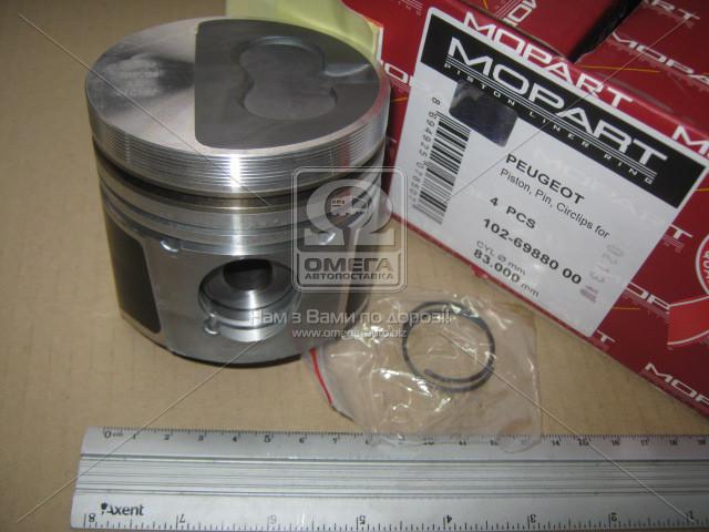 Поршень PSA 83.00 1.9 TD XUD9TE/TF (Mopart) 102-69880 00