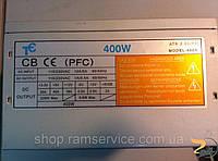 ТС 400x atx 2.03 P4 400W pfc, б/в