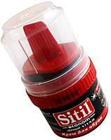 """Крем-Блеск для обуви """"Sitil"""" (черный)"""