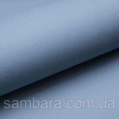 Мебельная ткань экокожа Софт (Soft) 09 голубой