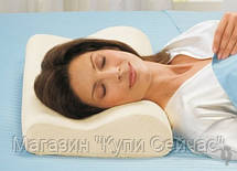 Латексная ортопедическая подушка с памятью Memory Foam Pillow, фото 2